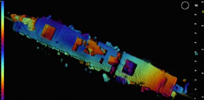 radioactive wreck of wwii aircraft carrier discovered near san
