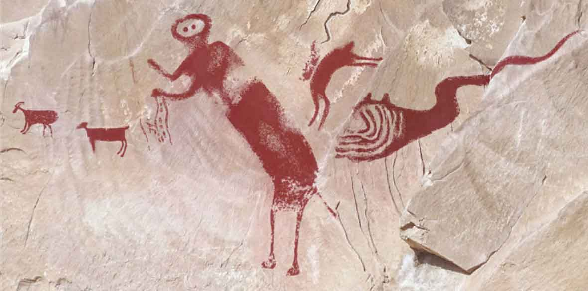 Prehistoric Utah Rock Art Does Not Depict a Pterosaur, Study Confirms