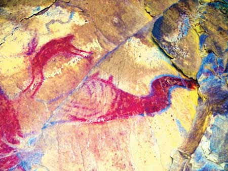 Utah-rock-art-pterosaur-dstretch