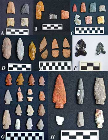 paleoindian-projectile-points