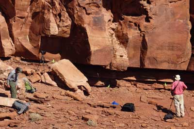 Researchers-at-Horseshoe-Mesa Arizona