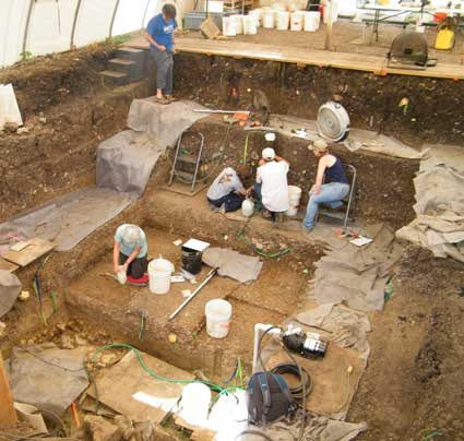 gault-site-excavation