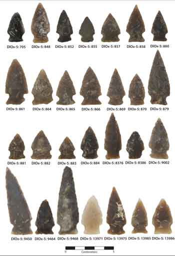 Besant-Sonota-Projectile-Points